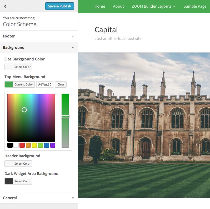 Capital - a WordPress Theme by WPZOOM