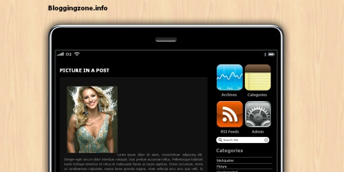 iPhone WordPress Themes