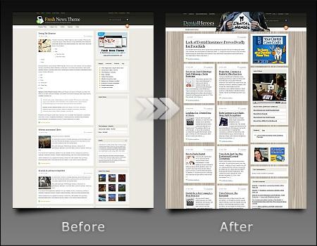Modified WordPress Themes
