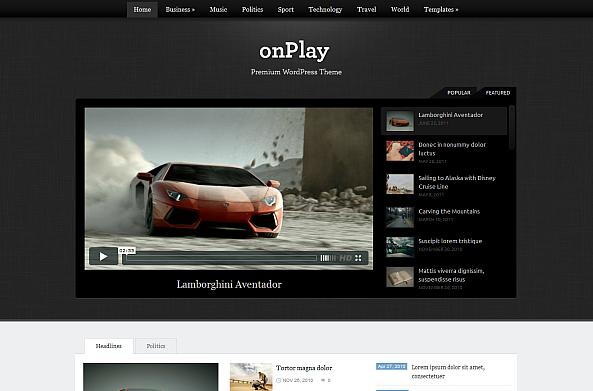 onPlay Theme