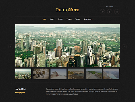 Photo Theme WordPress