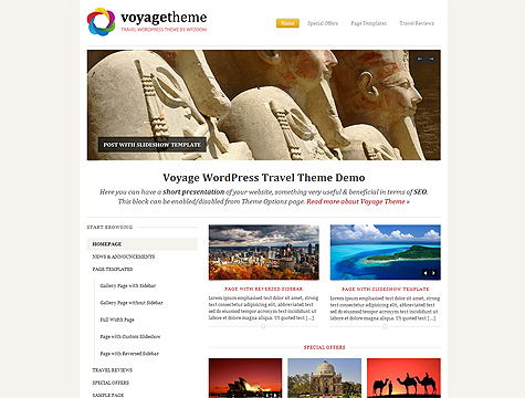 Voyage Theme
