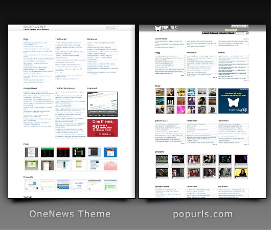 WordPress Clone Theme