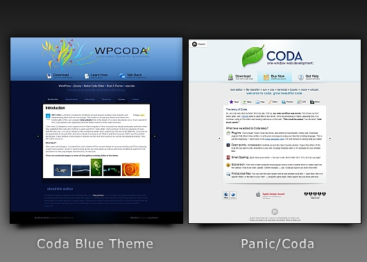 WordPress Clone Theme