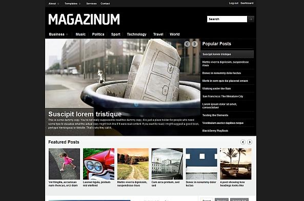 Magazinum Theme