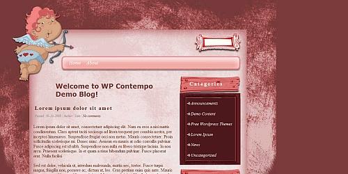 10 Free Wordpress Themes For Valentine S Day