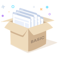 Basic plan box