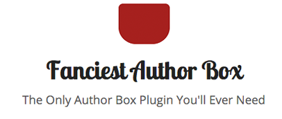 Fanciest Author Box