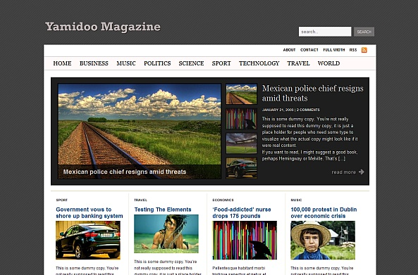 Yamidoo Magazine Theme
