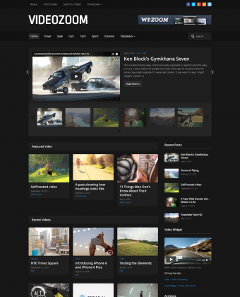 WordPress Theme: Videozoom 4.0