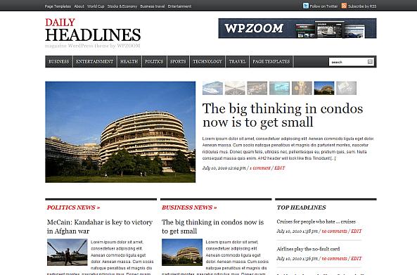 daily-headlines Theme