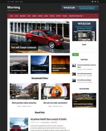WordPress Theme: Morning