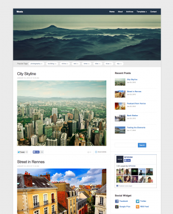 WordPress Theme: Meeta