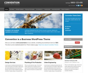 WordPress Theme: Convention