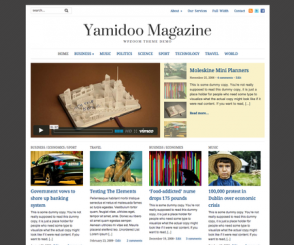 WordPress Theme: Yamidoo Magazine 2.0