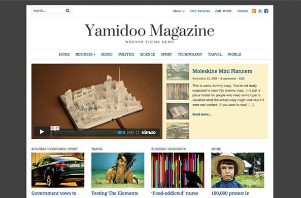Yamidoo Theme