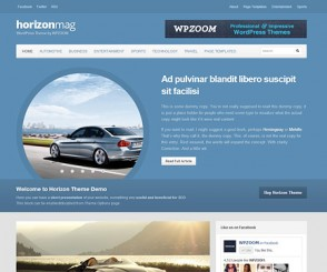 WordPress Theme: Horizon