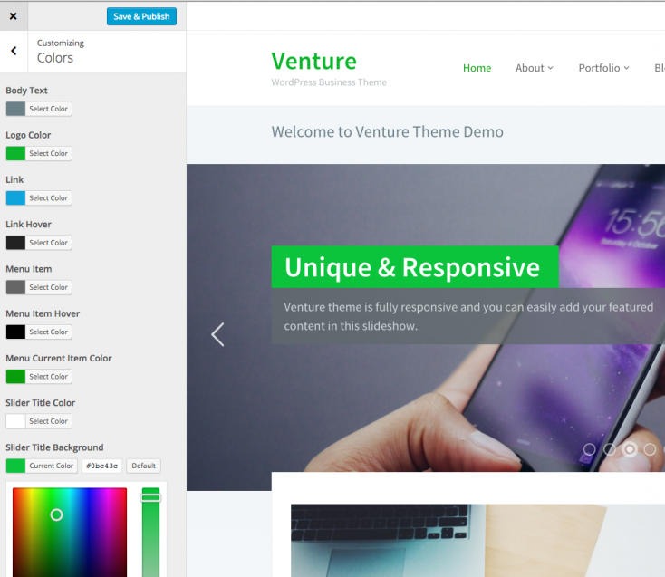 venture-customizer