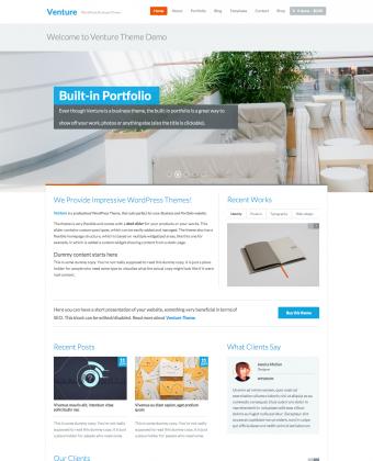 WordPress Theme: Venture