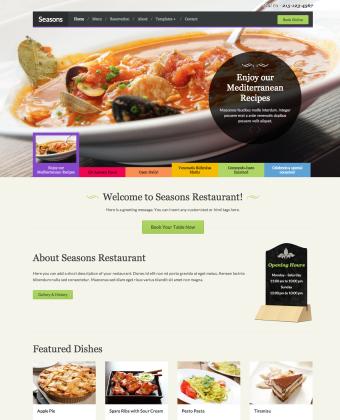 WordPress Theme: Seasons