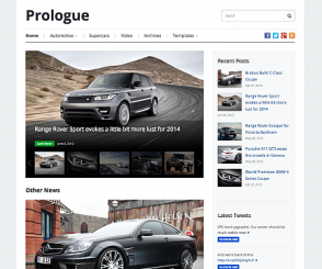 WordPress Theme: Prologue