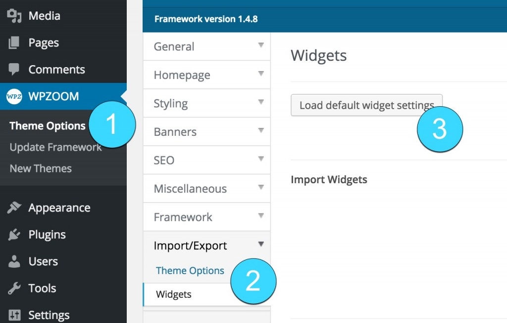 widget-import