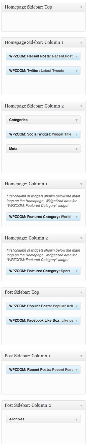widgets-chronicle