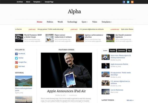 alpha-newspaper