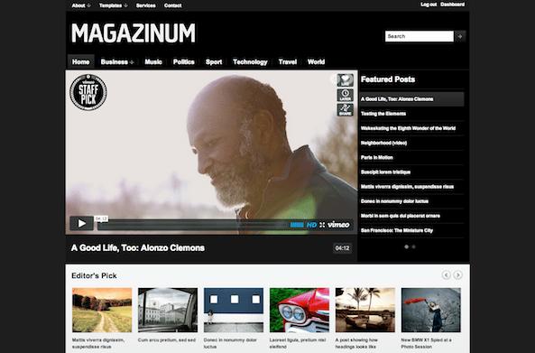 Magazinum 3.0 Theme