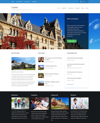 WordPress Theme: Capital