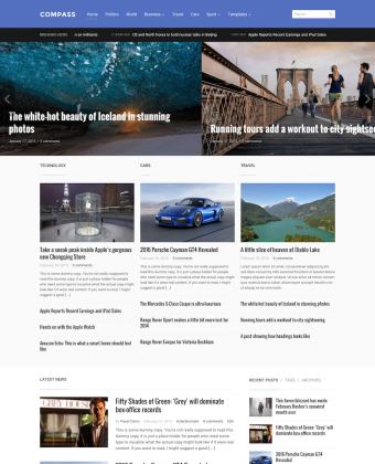 WordPress Theme: Compass