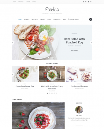 WordPress Theme: Foodica