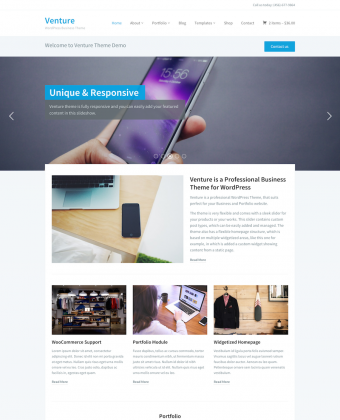 WordPress Theme: Venture 2.0