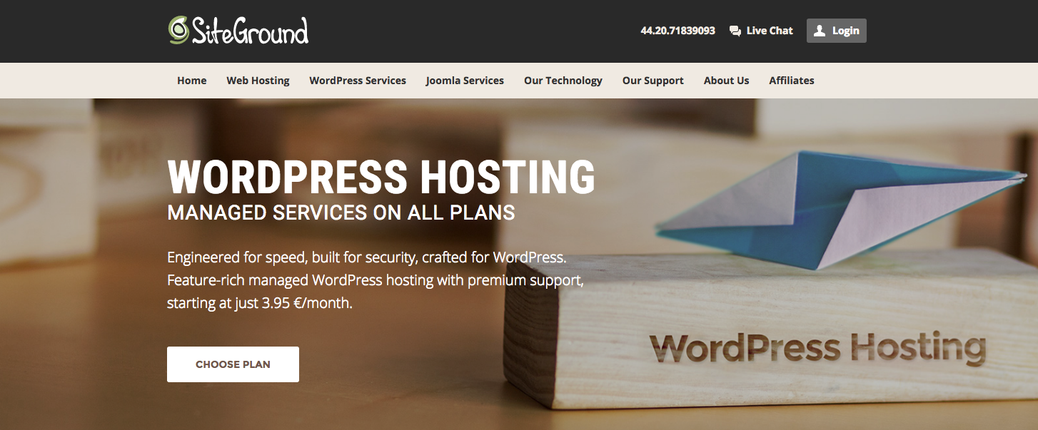 move wordpress hosted site