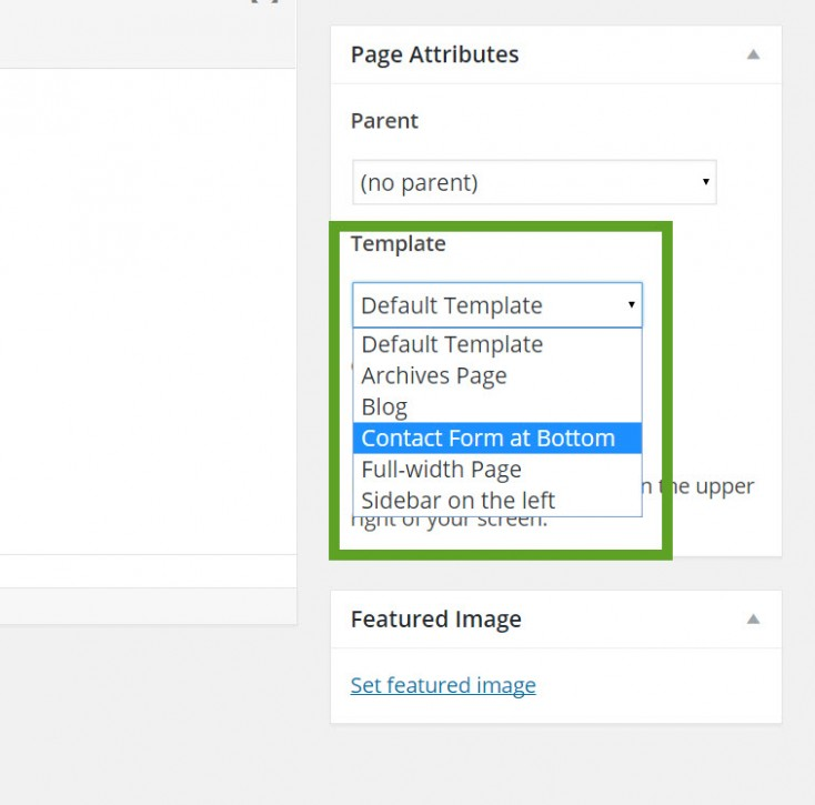 page-template-menu