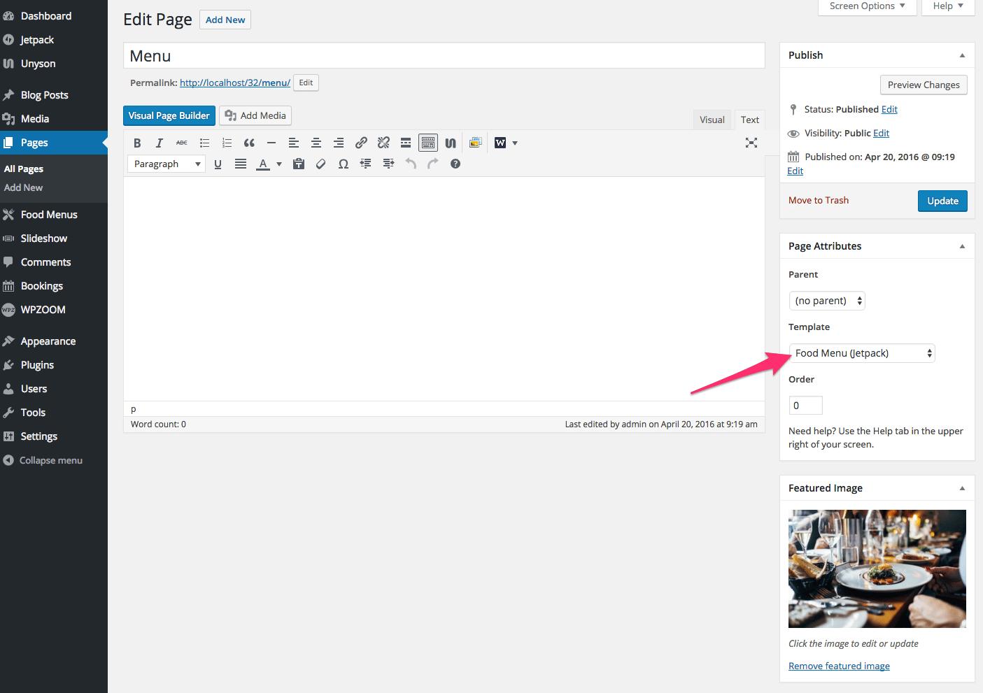 Edit_Page_‹_WPZOOM_—_WordPress