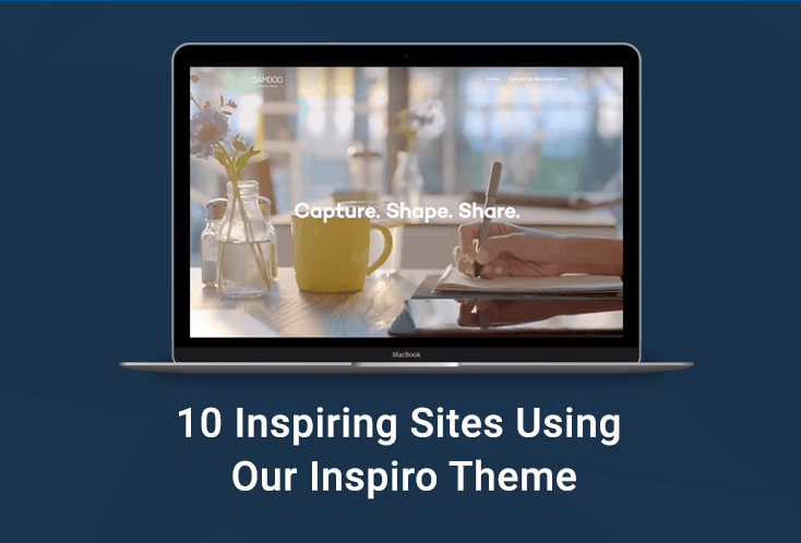 Empowering Creatives: 10 Inspiring Sites Using Our Inspiro Theme