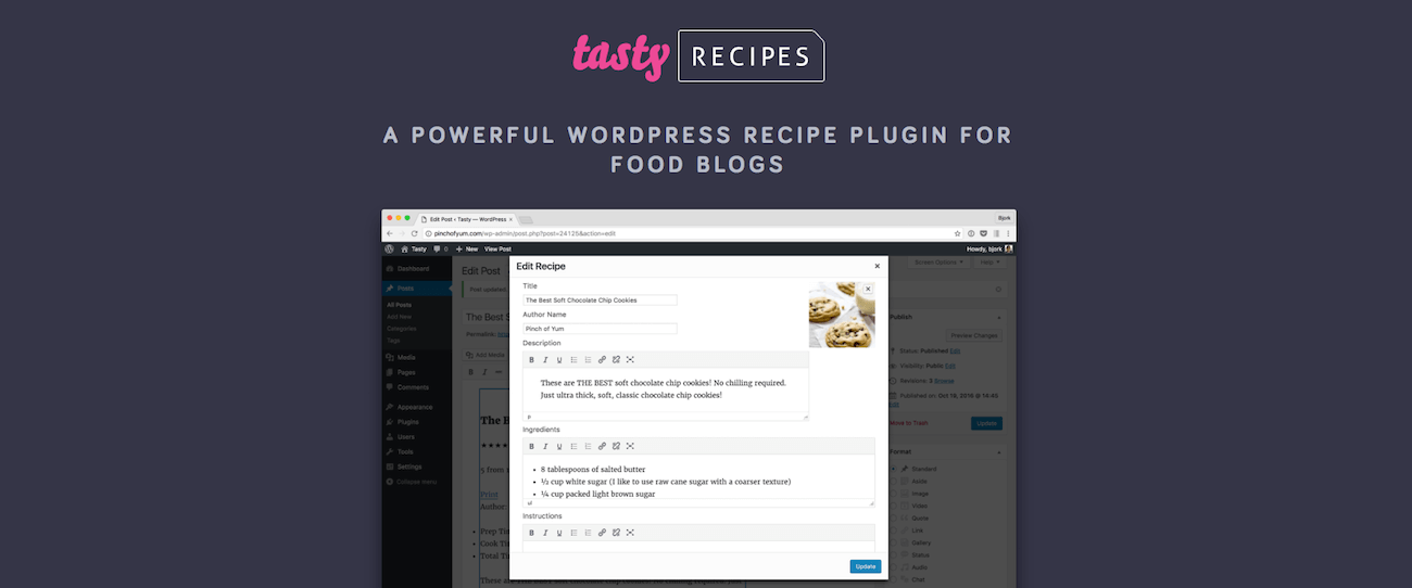 4 best wordpress recipe card plugins for food blogs tasty recipes is a very powerful premium plugin for food bloggers the plugin is well designed and offers migration options from other recipe plugins forumfinder Image collections