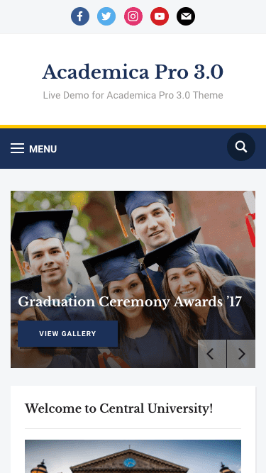 Academica Pro 3.0 • Best Education WordPress theme – WPZOOM