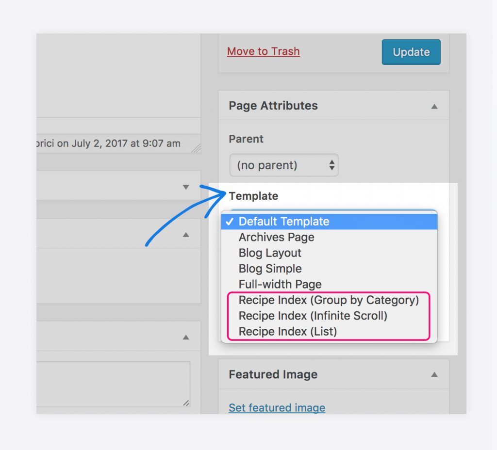 How To Create A Recipe Index In Foodica 230