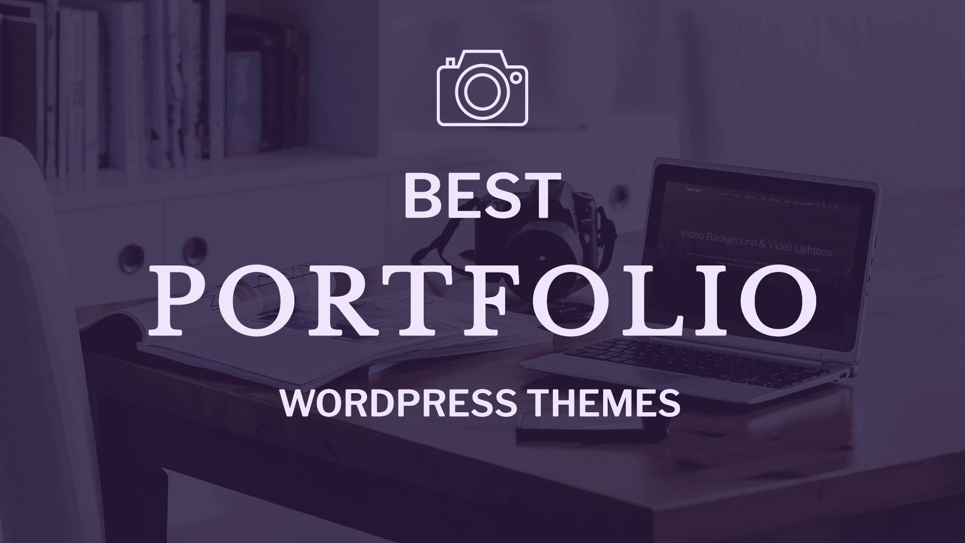 20+ Very Best Portfolio WordPress Themes for 2018