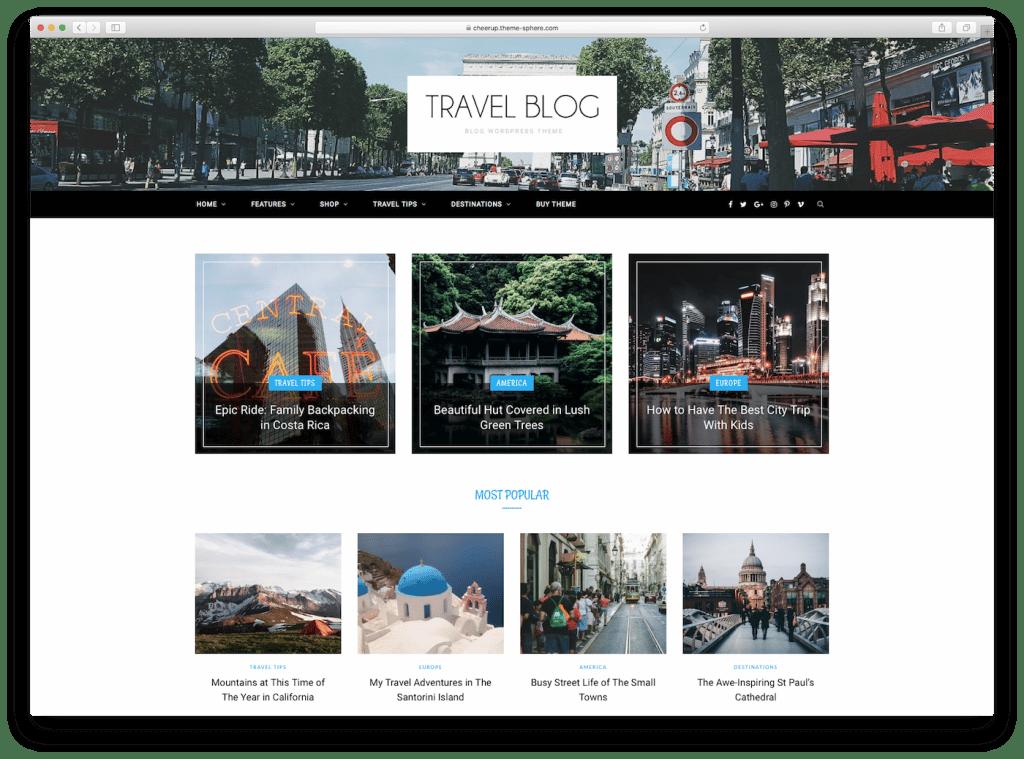 Minimalist Blog Design Templates