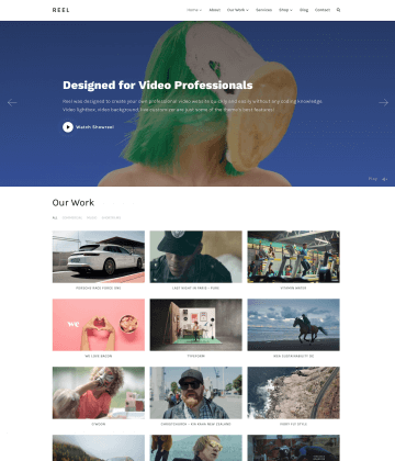 Reel WordPress Theme
