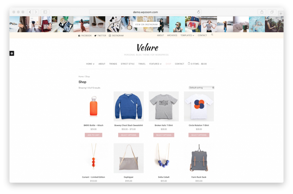 Monetize fashion blog with WooCommerce.