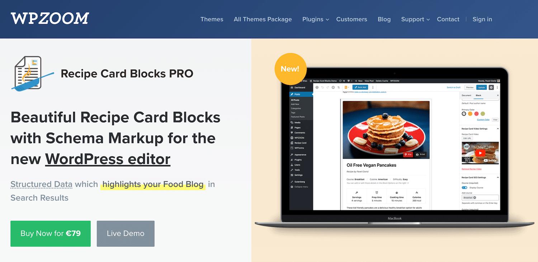 Recipe Card Blocks Pro